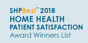SHP Best 2018 Home Health Patient Satisfaction Award Winners List