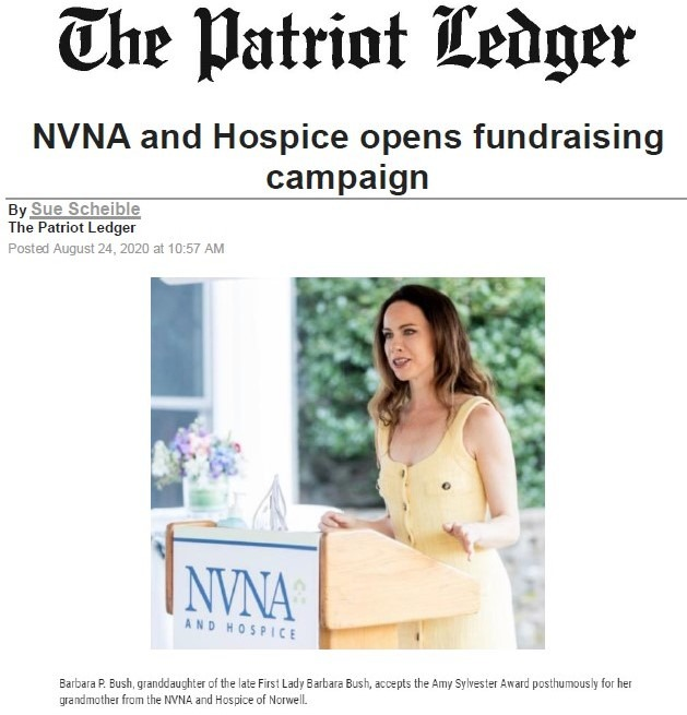 NVNA and Hospice Grace Campaign Kickoff Patriot Ledger